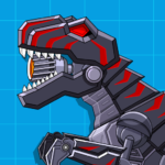 Robot Dinosaur Black T-Rex 2.4 MOD Unlimited Money for android