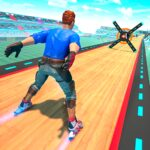 Sky Roller Skate Stunts Racing Impossible Tracks 1.6 MOD Unlimited Money for android