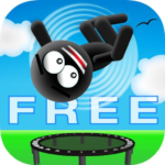 Stickman Trampoline FREE – Flip Master 4.8.0 MOD Unlimited Money for android