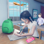 Virtual High School Girl Game- School Simulator 3D 1.0.0 MOD Unlimited Money for android