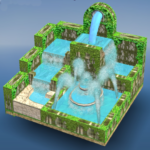 Flow Water Fountain 3D Puzzle 1.2 MOD Unlimited Money for android