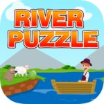 River Puzzle – IQ Test Mind 2.5 MOD Unlimited Money for android