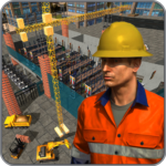 Supermarket Construction GamesCrane operator 1.6.0 MOD Unlimited Money for android