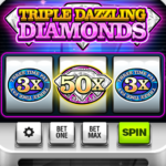 Triple Dazzling Diamonds Slots 2.853 MOD Unlimited Money for android