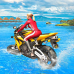 Water Surfer Racing In Moto 1.7 MOD Unlimited Money for android