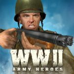 World War 2 Frontline Heroes WW2 Commando Shooter 1.2.3 MOD Unlimited Money for android
