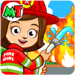 Fireman Firefighter Fire Station Game for KIDS 1.06 MOD Unlimited Money for android