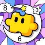 Jigsaw Coloring Number Coloring Art Puzzle Game 1.1.0 MOD Unlimited Money for android