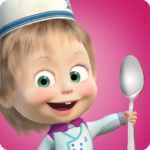 Masha and Bear Cooking Dash 1.3.6 MOD Unlimited Money for android