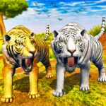 Virtual Tiger Family Simulator Wild Tiger Games 1.1 MOD Unlimited Money for android