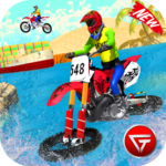 Beach Water Surfer Dirt Bike Xtreme Racing Games 1.0.5 MOD Unlimited Money for android