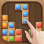 Color Wood Block Puzzle – Free Fun Drop Brain Game 1.4.7 MOD Unlimited Money for android
