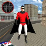 Flying SuperHero Rope Vegas Rescue 2.3 MOD Unlimited Money for android