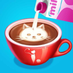 Kitty Caf – Make Yummy Coffee Snacks 2.3.5038 MOD Unlimited Money for android