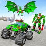 Monster Truck Robot Wars New Dragon Robot Game 1.0.9 MOD Unlimited Money for android