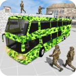 Offroad New Army Bus Game 2019 1.6 MOD Unlimited Money for android