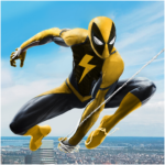 Spider Rope Hero Crime City Battle 1.0.28 MOD Unlimited Money for android