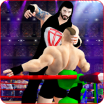 Tag Team Wrestling Games Mega Cage Ring Fighting 5.8 MOD Unlimited Money for android