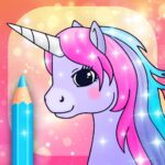 Unicorn Coloring Pages with Animation Effects 3.3 MOD Unlimited Money for android