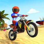 Beach Bike Stunts Crazy Stunts and Racing Game 5.1 MOD Unlimited Money for android