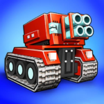 Blocky Cars – pixel shooter tank wars 7.6.8 MOD Unlimited Money for android