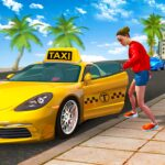 City Taxi Driving Sim 2020 Free Cab Driver Games 1.0.9 MOD Unlimited Money for android