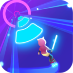 Cyber Surfer Free Game the Rhythm Knight 0.1.00 MOD Unlimited Money for android