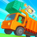 Dinosaur Garbage Truck – Games for kids 1.0.4 MOD Unlimited Money for android