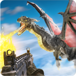 Flying Dragon Hunter Dragon Shooting Games 1.1.3 MOD Unlimited Money for android