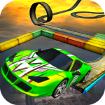 Impossible Stunt Car Tracks 3D 1.7 MOD Unlimited Money for android