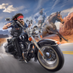 Outlaw Riders War of Bikers 0.2.1 MOD Unlimited Money for android