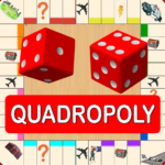 Quadropoly Best AI Board Business Trading Game 1.78.82 MOD Unlimited Money for android