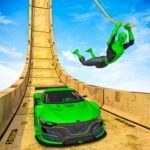 Superhero Mega Ramps GT Racing Car Stunts Game 1.14 MOD Unlimited Money for android