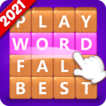 Word Fall – Brain training search word puzzle game 3.1.3 MOD Unlimited Money for android