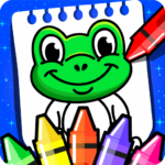 Coloring Games PreSchool Coloring Book for kids 4.0 MOD Unlimited Money for android