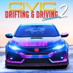 Drifting and Driving Simulator Honda Civic Game 2 2.0 MOD Unlimited Money for android
