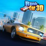 Rush Car 3D 1.0.2 MOD Unlimited Money for android