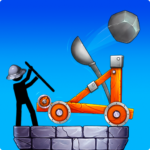 The Catapult 2 Grow CastleTower DefenseStickman 4.1.0 MOD Unlimited Money for android