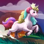 Unicorn Runner 1.22 MOD Unlimited Money for android