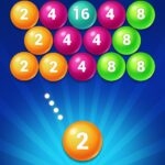 Bubble Shooter 2048 Ball Shoot Merge Puzzle MOD Unlimited Money for android