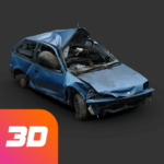 Car crash test simulator sandbox derby offroad 3.1 MOD Unlimited Money for android