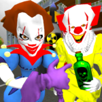 Clown Brothers. Neighbor Escape 3D MOD Unlimited Money for android