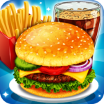 Fast Food Cooking and Restaurant Game MOD Unlimited Money for android