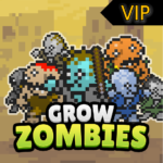 Grow Zombie VIP – Merge Zombies MOD Unlimited Money for android