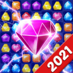Jewels Crush Legend- Diamond Gems Free Match 3 MOD Unlimited Money for android
