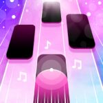 Magic Pink Tiles Piano Game 1.0.0 MOD Unlimited Money for android