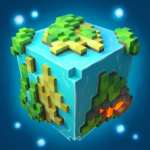 Planet of Cubes Craft Survival MOD Unlimited Money for android