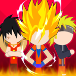 Super Stick Fight All-Star Hero Chaos War Battle MOD Unlimited Money for android