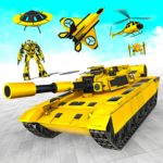 Tank Robot Transform Wars – Multi Robot Game MOD Unlimited Money for android
