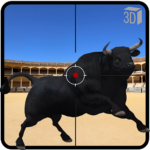 Angry Bull Attack Shooting MOD Unlimited Money for android